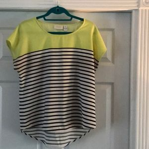 Chico's short sleeve top size small